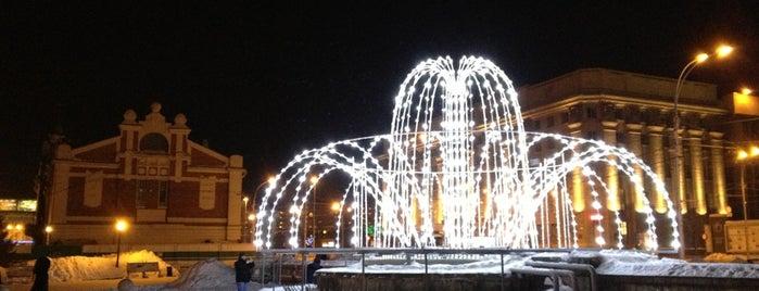 Первомайский сквер is one of Novosib.