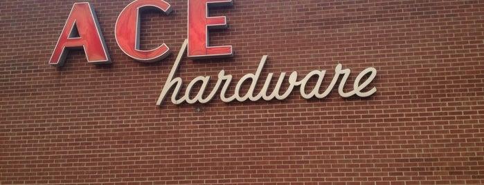 Ace Hardware is one of Andy : понравившиеся места.