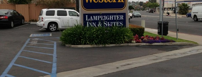 Best Western Lamplighter Inn & Suites at SDSU is one of J.O.B..