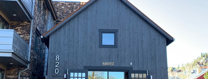 Harvest Cafe is one of Park city.