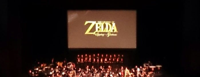 Zelda Symphony Of The Goddesses is one of Tempat yang Disukai Marco.