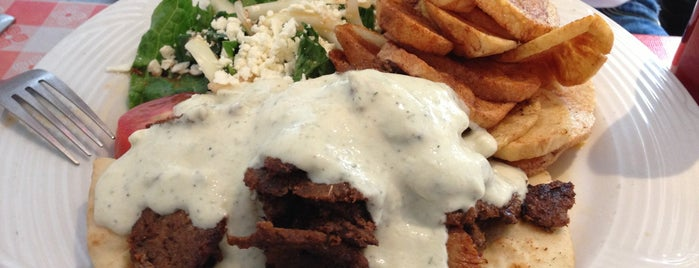 Myconos Greek Restaurant is one of In & Out of the Loin.