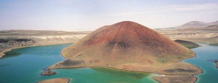 Meke Krater Gölü is one of Bir Gezginin Seyir Defteri.