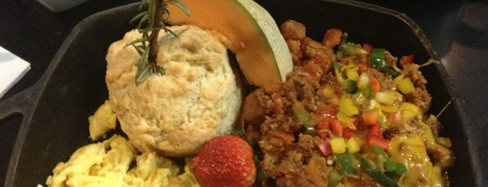 Hash House A Go Go is one of Vegas Breakfast.