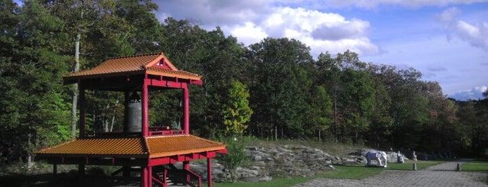 Chuang Yen Monastery is one of Catskills.