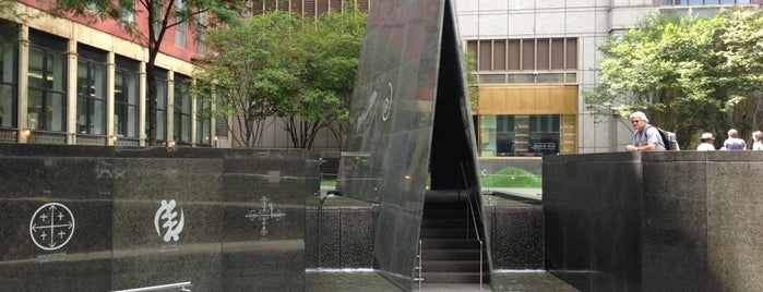 African Burial Ground National Monument is one of New York City.
