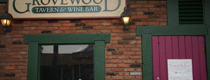 Grovewood Tavern is one of Cle Top 100.
