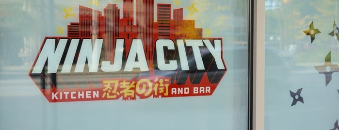 Ninja City Kitchen & Bar is one of Cleveland.