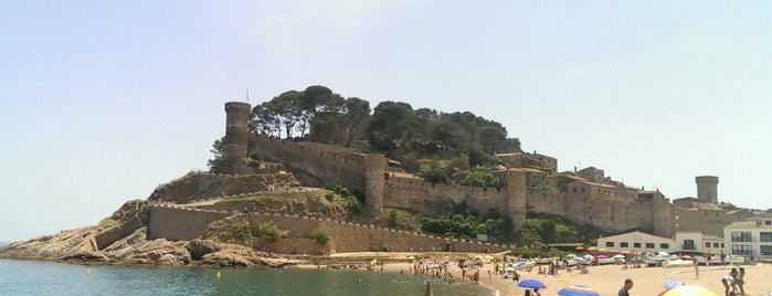Tossa de Mar is one of Pueblos medievales.