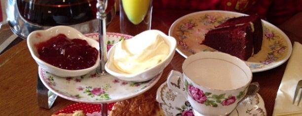Candella Tea Room is one of London Tea Times.