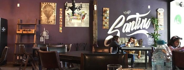 Santino café is one of Posti salvati di Raiza.