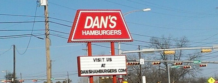 Dan's Hamburgers is one of Burgers.