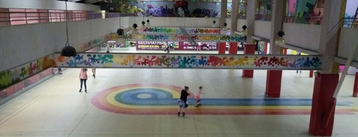 Роллердром «Dream Town» is one of Роллердромы Киева / Kyiv Roller Rinks.