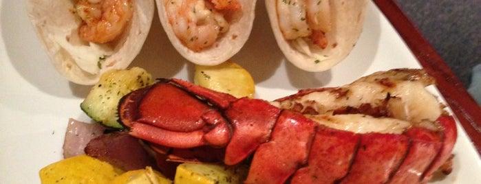 Red Lobster is one of Atlanta.