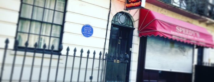 221B Baker Street filming location is one of Marianne 님이 저장한 장소.