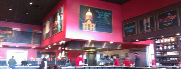 Flat Top Grill is one of Posti che sono piaciuti a Mark.