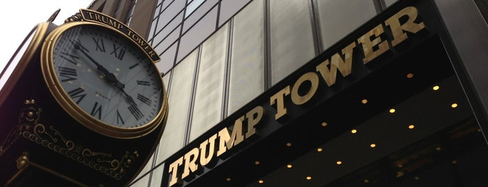 Trump Tower is one of Places in NY.