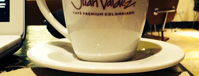 Juan Valdez Café is one of Wifi NYC.