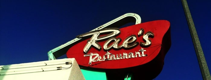 Rae's Diner is one of LA.