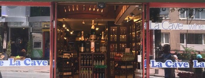 La Cave is one of En İyi Tasarımlı Şarap Ve İçki Mağazaları.