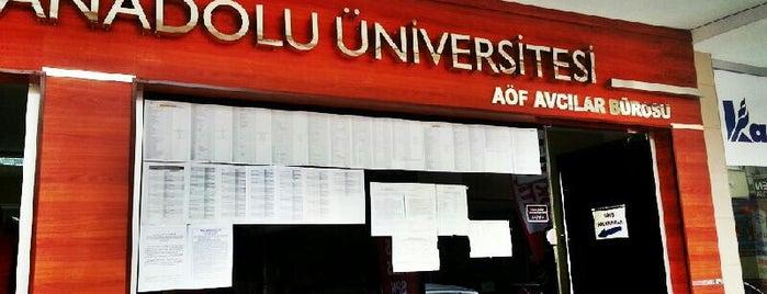 Avcılar Açıköğretim Bürosu is one of Lugares favoritos de Beyaz.
