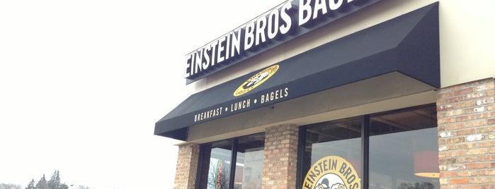 Einstein Bros Bagels is one of Posti che sono piaciuti a Michael.