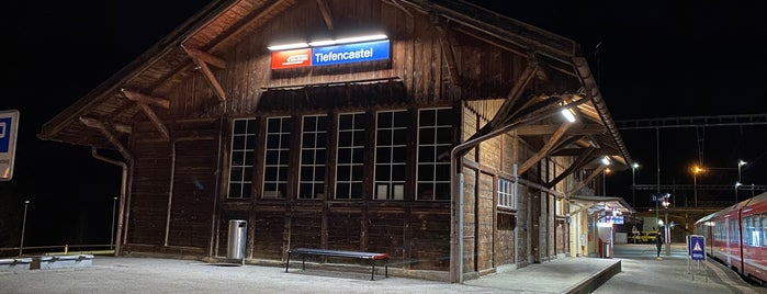 Bahnhof Tiefencastel is one of Europe Favourites.