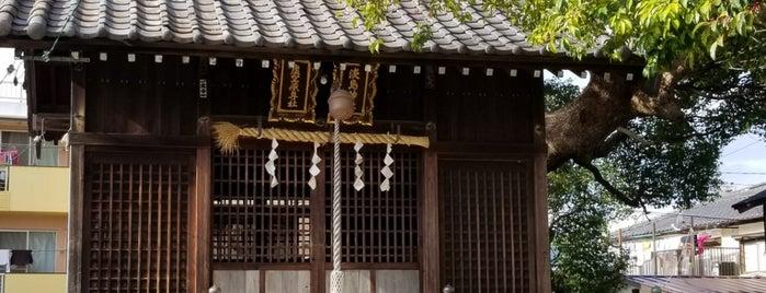 淡島神社 is one of ちびまる子ちゃん聖地巡礼.