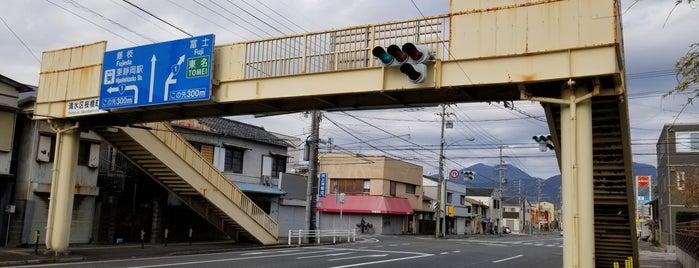 入江三丁目歩道橋 is one of ちびまる子ちゃん聖地巡礼.