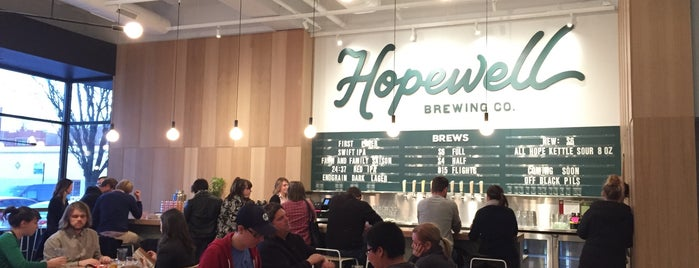 Hopewell Brewing Company is one of Chitown.