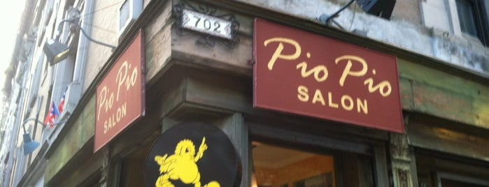 Pio Pio Salon is one of nyc todos.