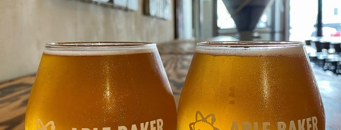 Able Baker Brewing is one of Vegas.