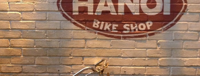 The Hanoi Bike Shop is one of Glasgow.
