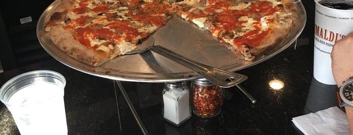 Grimaldi's Coal Brick-Oven Pizzeria is one of New York.