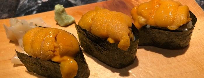 Sushi Mori is one of Huang: сохраненные места.