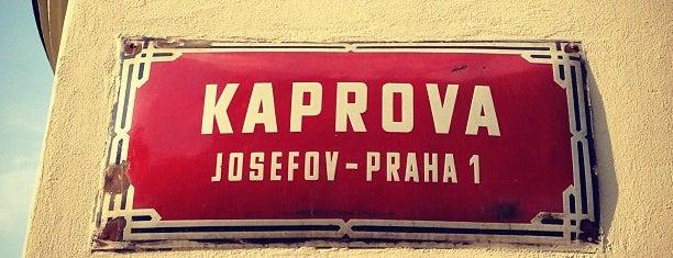 Kaprova is one of Prague.