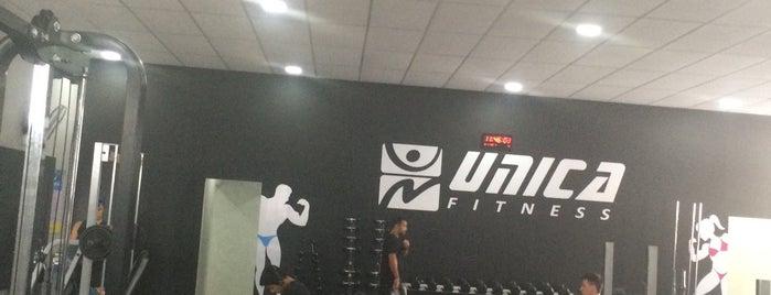 Única Fitness is one of สถานที่ที่ Marise ถูกใจ.