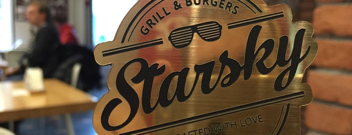 Starsky Grill & Burgers is one of Lieux sauvegardés par Daria.