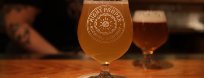 Right Proper Brewing Company is one of Washington, DC.