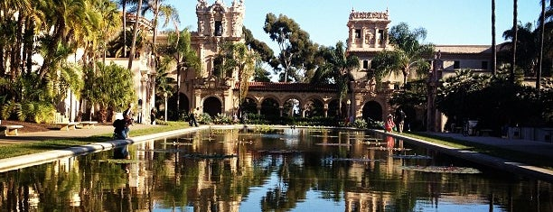 Balboa Park is one of cali.