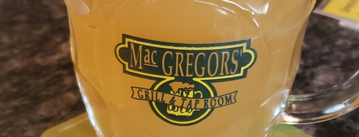 MacGregor's Grill & Tap Room is one of Take zucchini.
