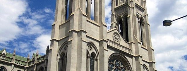 The Cathedral Basilica of the Immaculate Conception is one of Denver.