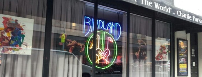 Birdland is one of NYC Beat.