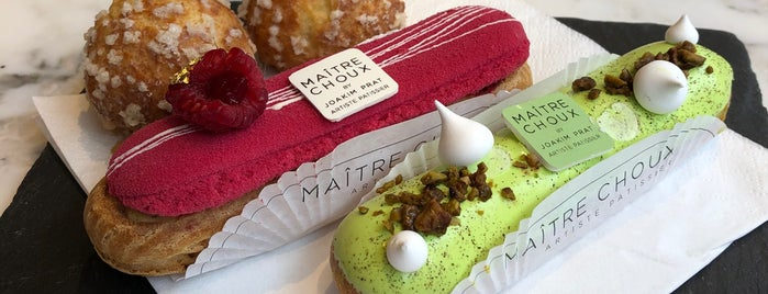 Maitre Choux is one of London☕️🍫🍨.