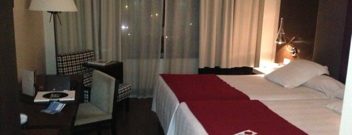 NH Valladolid Balago is one of Hoteles en que he estado.