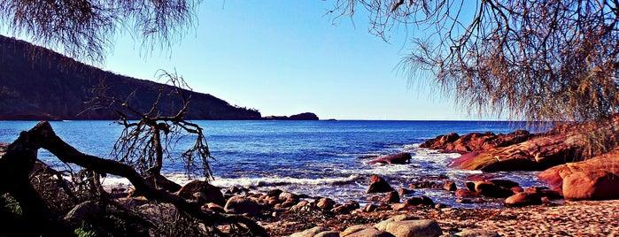 Sleepy Bay is one of Tasmania.