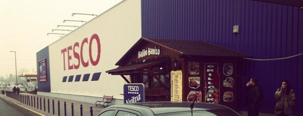 TESCO Hipermarket is one of Krzysztof : понравившиеся места.