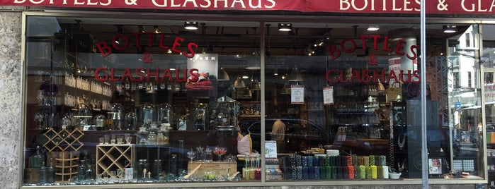 Bottles & Glashaus is one of Munich.