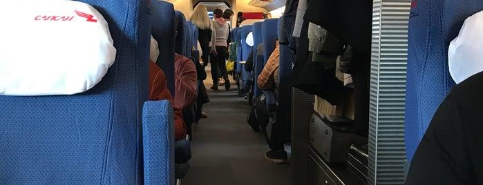 Поезд № 767 «Сапсан» Санкт-Петербург — Москва is one of Lieux qui ont plu à Konstantin.