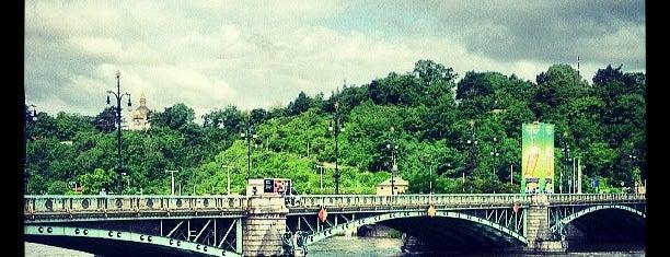 Čechův most is one of Lugares favoritos de Onur.